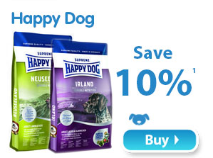 Happy Dog Save 10% 1
