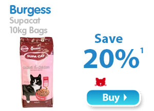 Burgess Supa Cat  10kg Bags  Save 20% 1