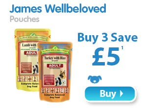 James Wellbeloved Pouches  Buy 3 Save £5 1