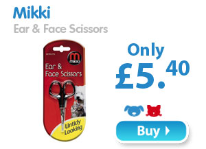 Mikki  Ear & Face Scissors  Only £5.40