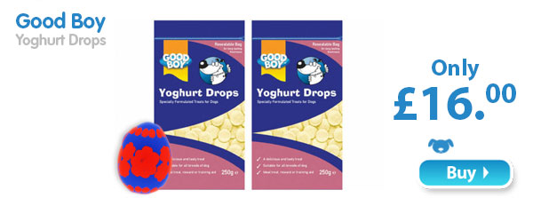 Good Boy Yoghurt Drops  Only £16.00