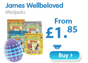 James Wellbeloved Minijacks  From £1.85