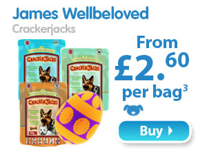 James Wellbeloved Crackerjacks  From £2.60 per pack 3