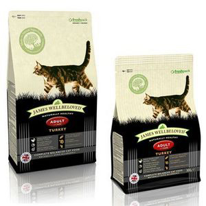 James Wellbeloved Cat Adult Food Turkey 4kg