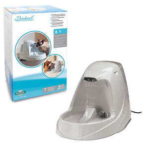 Drinkwell Petsafe Platinium Fountain For Cat And Dog Platinum Fountain