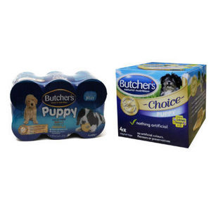 Butchers Puppy Dog Food Choice multipack 24 x 400g