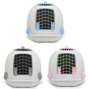 Igloo 2 In 1 Cat Litter Toilet & Cat Carrier Tundra Grey