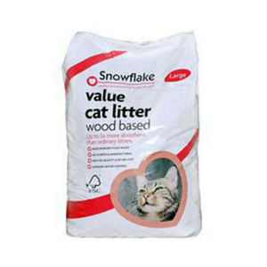 Snowflake Value Wood Based Cat Litter 5 x 5L
