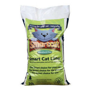 Smart Cat 100 Organic Wood Cat Litter 6L