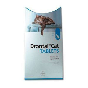 Drontal Worming Tablet for Cats 1 Tablet