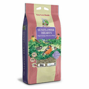 Harrisons Wild Bird Food Sunflower Hearts 4 x 3kg