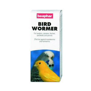 Beaphar Bird Wormer 6 x 10ml