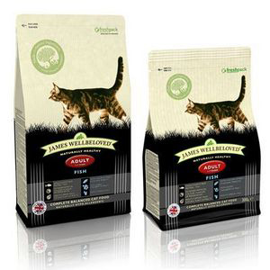 James Wellbeloved Adult Cat Food Fish 6 x 300g