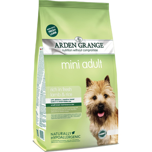 Arden Grange Dog Adult Mini Lamb & Rice 2kg