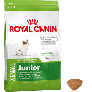 royal canin x small junior size health nutrition. Black Bedroom Furniture Sets. Home Design Ideas