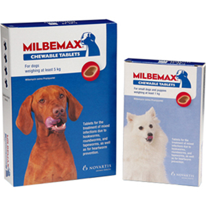 Milbemax Chewable Tablets for Dogs