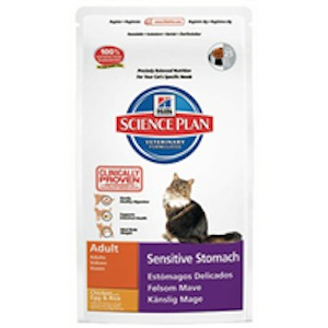 Hills Science Plan Sensitive Stomach Adult Katzenfutter