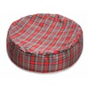 Cosipet Tartan Bean Bag Red