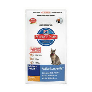 Hill S Science Plan Active Longevity Mature Cat Food With Chicken